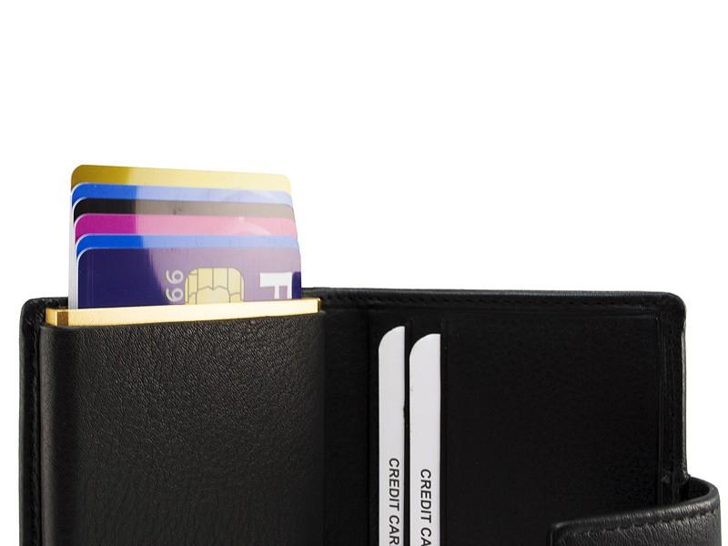 Burkely Figuretta Cardprotector set Zwart - Gold