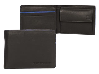 Nick Tardan heren portemonnee - Blue Style (Small low Billfold)