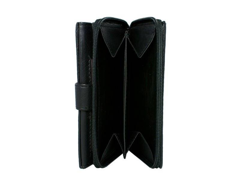 Basic Portemonnee Level XXL met Clip en Rits Zwart