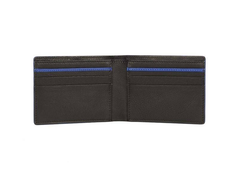 Nick Tardan heren portemonnee - Blue Style (No coin Purse) Zwart