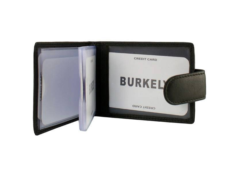 Burkely Exclusive Creditcard Etui Baz Zwart