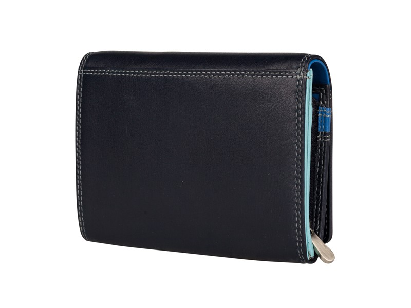 Patchi Multicolor - Ladies Wallet Revert Blauw - Multicolor