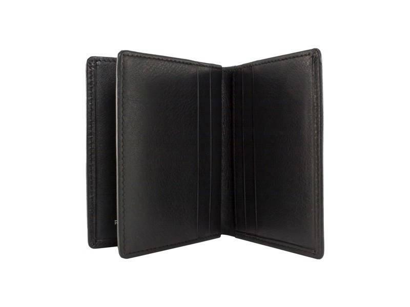 Burkley RFID Creditcardhouder met briefgeldvak Zwart