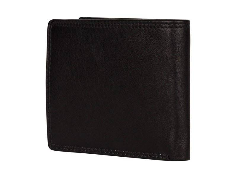 Patchi Heren Portemonnee New London Lowbillfold (medium) Zwart