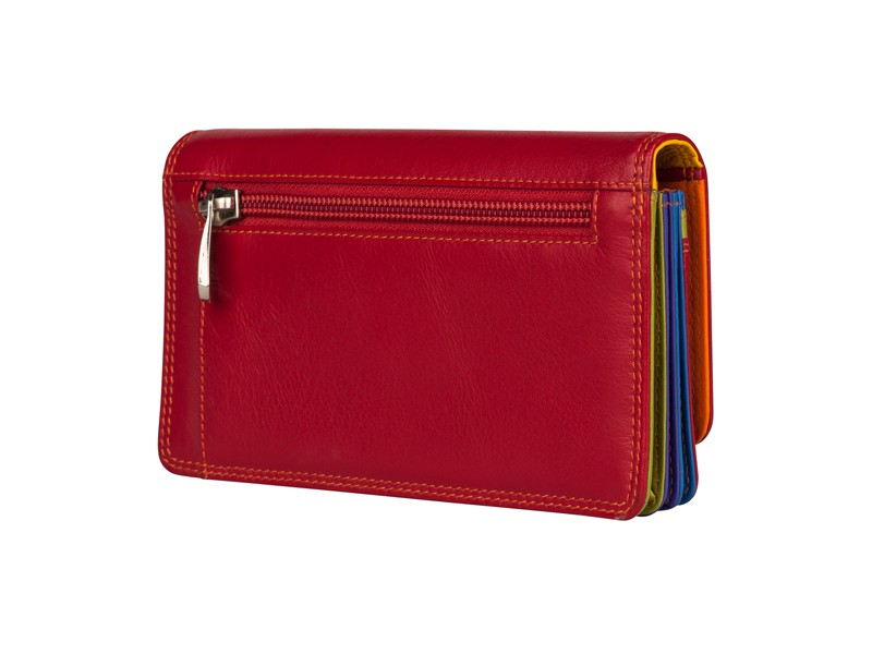 Patchi Multicolor - Ladies Wallet Original Blauw - Multicolor