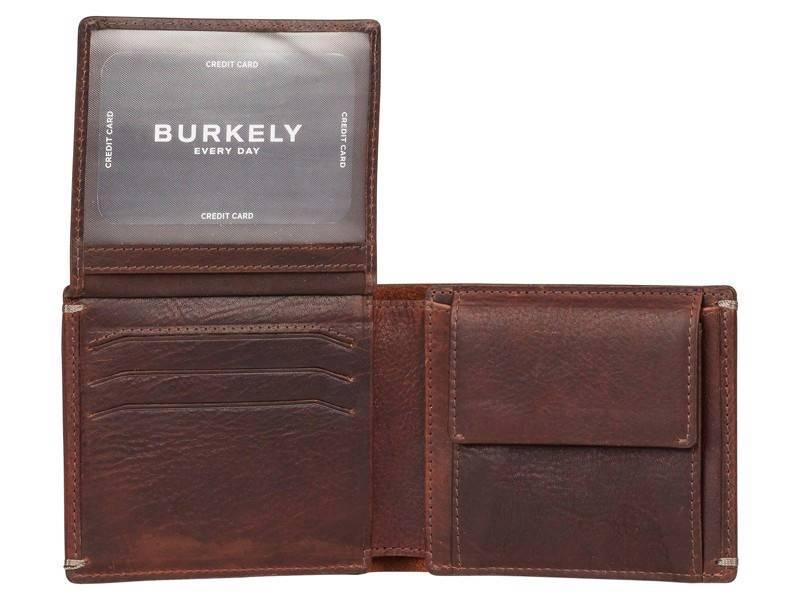 Burkely Vintage Hunter Heren portemonnee - Con Donker Bruin