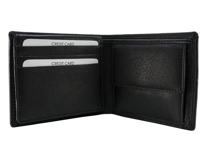 Burkely Heren Portemonnee New London Lowbillfold Zwart