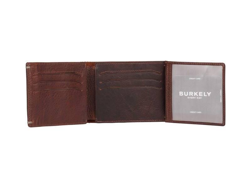 Burkely Vintage Hunter Heren portemonnee - 2dos Zwart