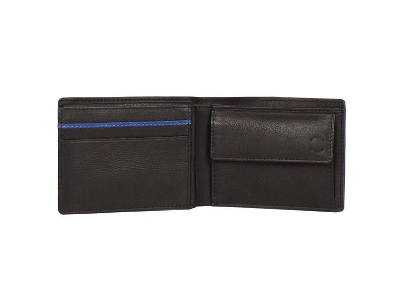 Nick Tardan heren portemonnee - Blue Style (Small low Billfold) Zwart