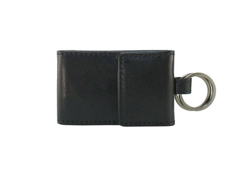 Burkely Mini Portemonnee met Sleutelring Zwart