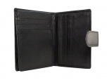 Burkely RFID Creditcardhouder Clip en Rits Zwart
