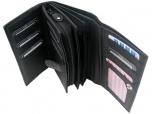 Basic Overslag Wallet XL Zwart