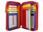 Burkely Dames portemonnee tas Zwart - multicolor