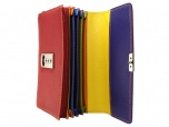 Burkely Multicolor Horecabeurs met rits Rood