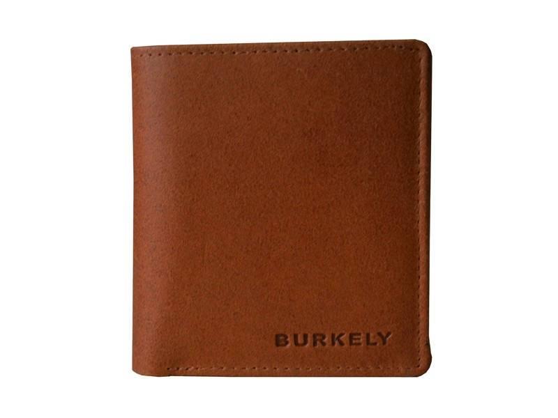 Burkely Hunter Leren Portemonnee - Hoog Model Cognac