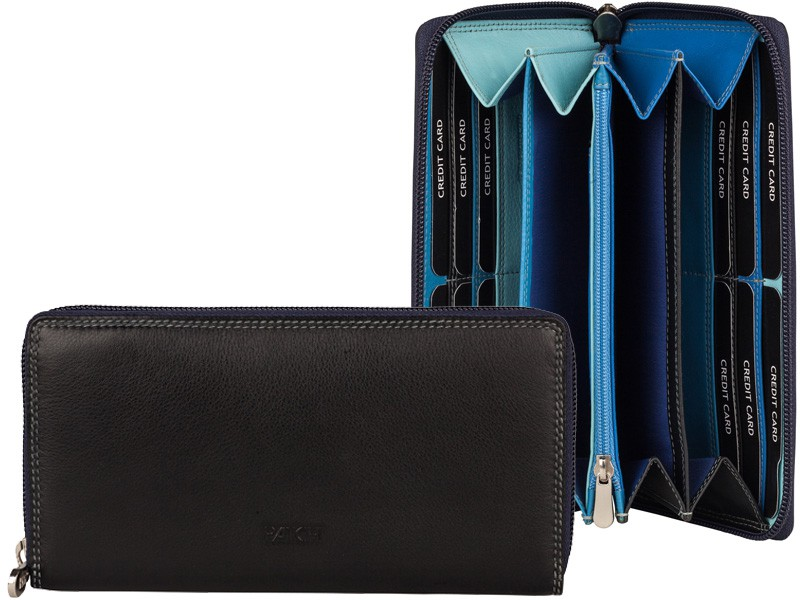 Patchi Multicolor - Ladies Wallet Rev Blauw - multicolor