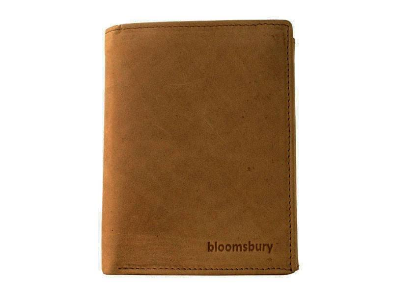 Bloomsbury Leren heren portemonnee Synergy Tan