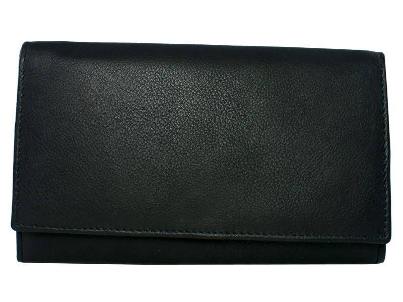 Basic Long Wallet Mulder Zwart