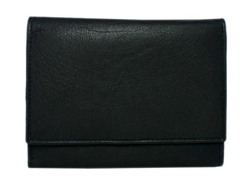 Basic klassieke Drukker Portemonnee Zwart