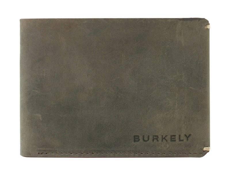 Burkely Leren Hunter Nodes Undressed (zonder muntvak) Grijs