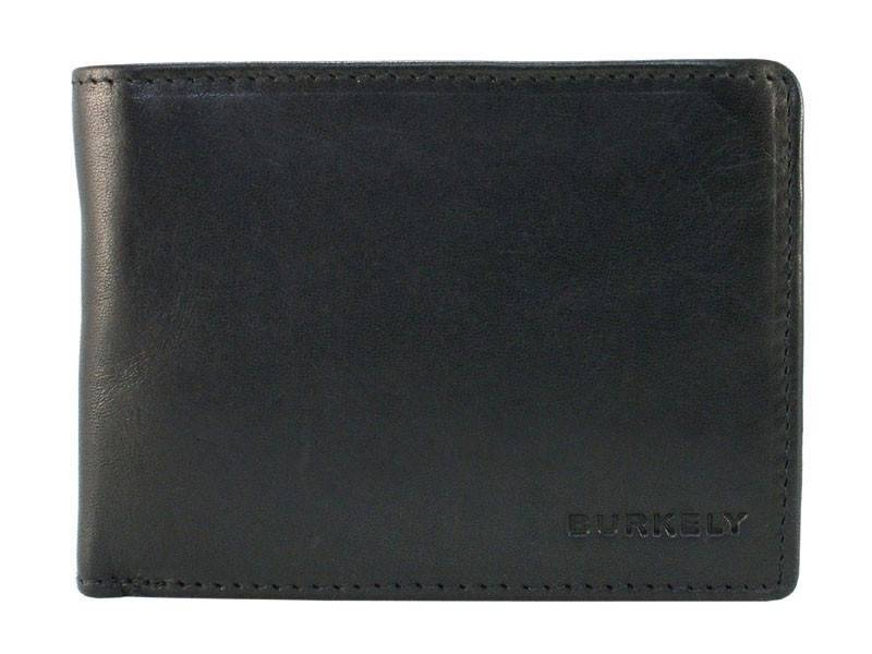 Burkely Heren Portemonnee Walletz (ultra small) Zwart