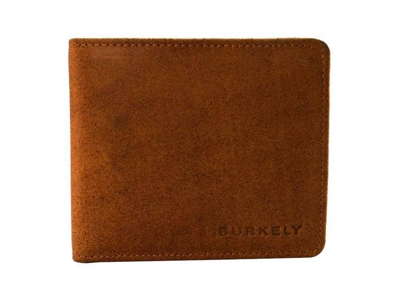 Burkely Hunter Leren Portemonnee - Laag Model Cognac