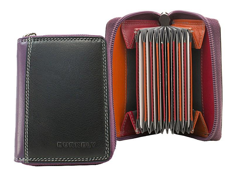 Burkley Multicolor - Mini Wallet Ride Zwart - Multicolor