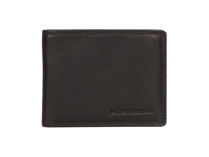 Nick Tardan heren portemonnee - Stage Style (No coin Purse) Zwart