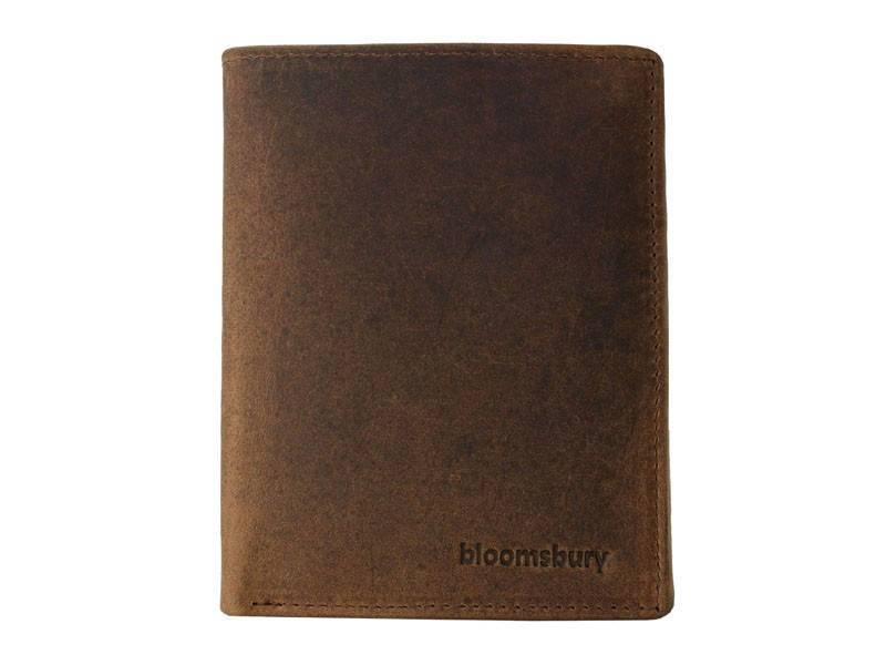 Bloomsbury Leren heren portemonnee Synergy Cognac