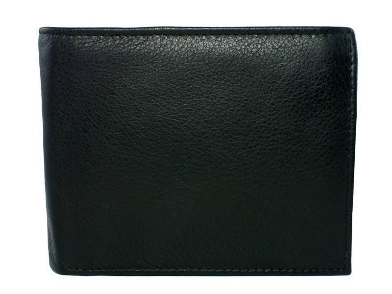 Leren portemonnee - Briefgeldvak rits Zwart