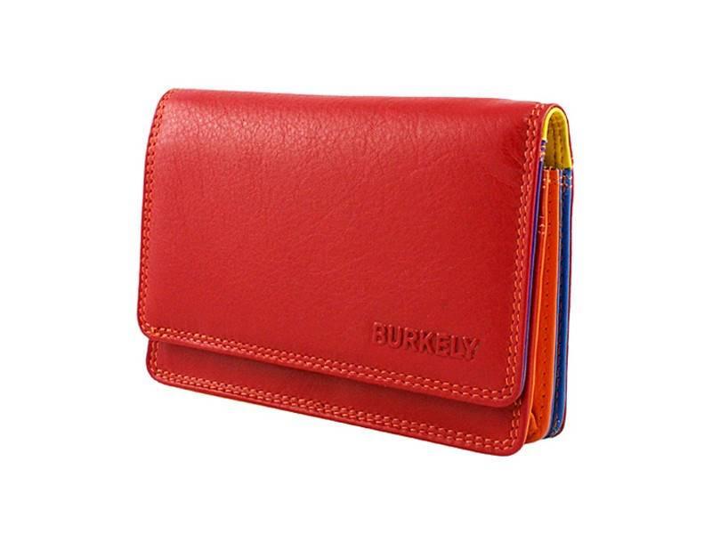 58f7a692859 Kleine Burkely Dames Portemonnee Rood - multicolor