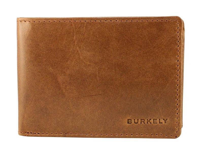 Burkely Heren Portemonnee Walletz (ultra small) Cognac