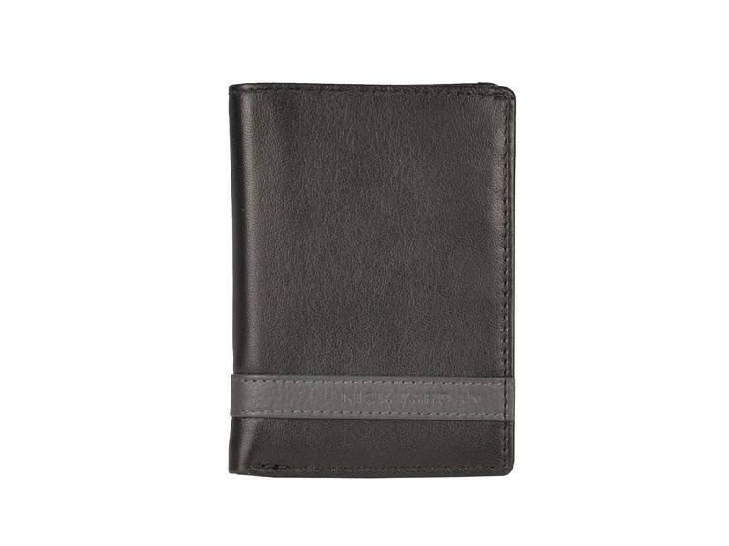 Nick Tardan Creditcard mapje - Primary Style (Card Holder) Zwart - Grey Line